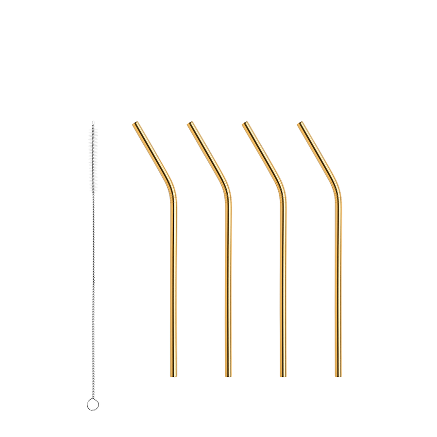 Peak Straws Set of 4