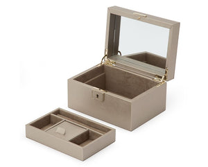 Wolf Designs Palermo Small Pewter Jewelry Case
