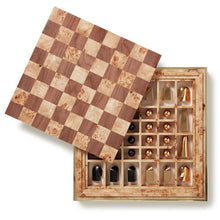 Load image into Gallery viewer, Embossed Shagreen Chess Set