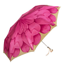 Load image into Gallery viewer, Pink Dahlia Folding Umbrella