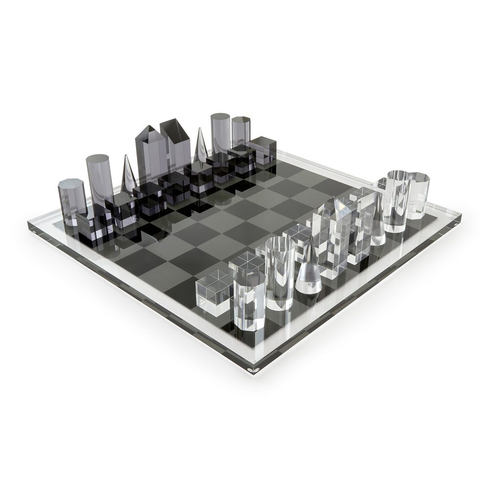Tizo Acrylic Chess Set