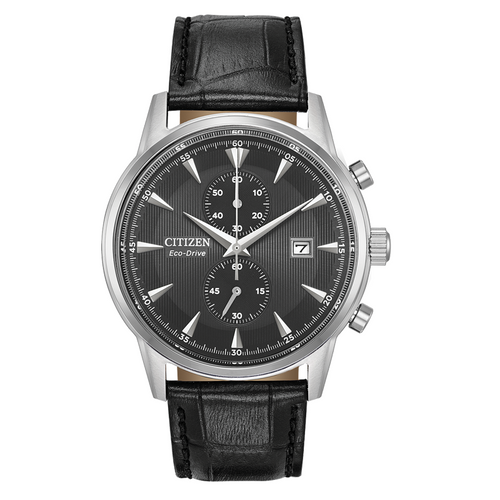 Citizen Corso with Black Leather Strap