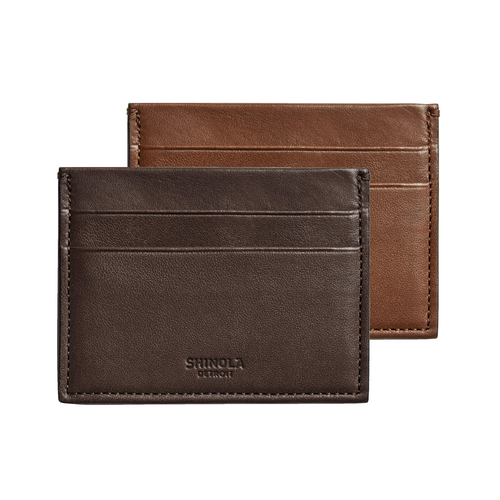 Shinola 5 Pocket Card Case Palmer