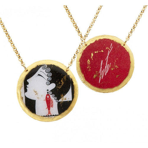 Erté La Duchesse Double Sided Necklace