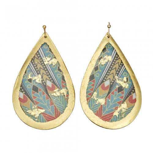 Erté Nile Teardrop Earrings