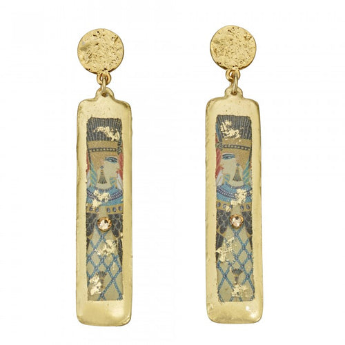 Erté Nile Column Earrings