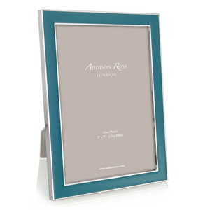 Addison Ross Teal Enamel Frame