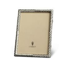 Load image into Gallery viewer, L'Objet Deco Twist Platinum Frame