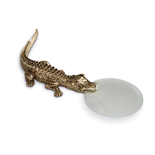 Load image into Gallery viewer, L'Objet Crocodile Magnifying Glass