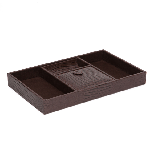 Wolf Designs Brown Valet Tray