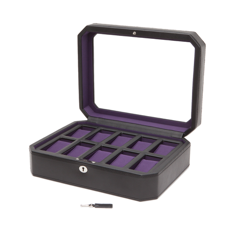 Wolf Designs 10 Piece Watch Box