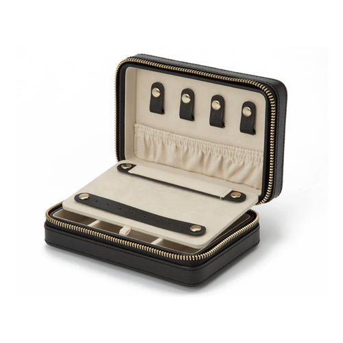 Wolf Designs Palermo Zip Jewelry Case