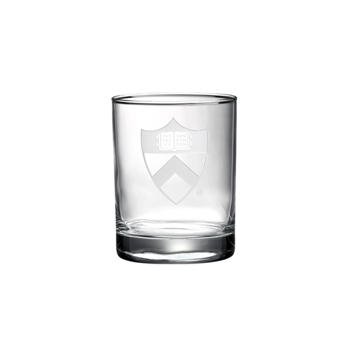 Princeton University Double Old Fashion Glass Set