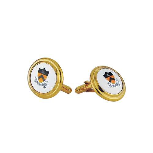 Princeton Shield Cufflinks