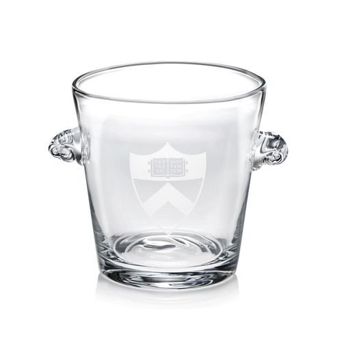 Princeton University Glass Ice Bucket