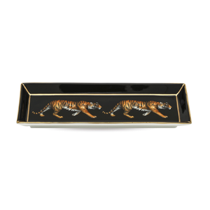 Halycon Days Twin Tiger Rectangular Tray