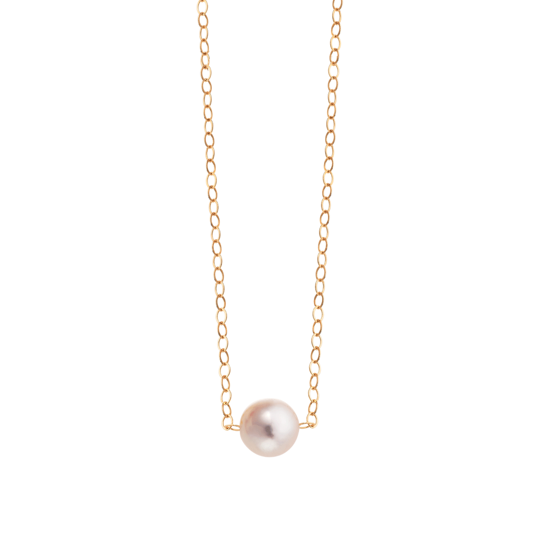 14k Gold Add A Pearl Necklace
