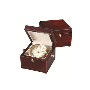Treasure Chest Captains Clock