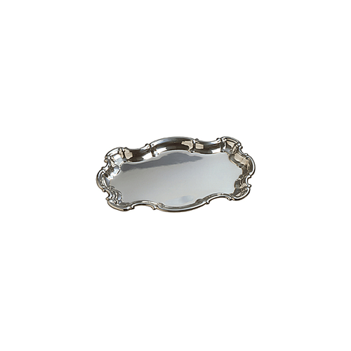 Chippendale Pewter Invitation Tray