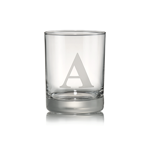Personalized Glass Double Old Fashion