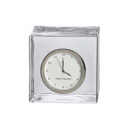 Simon Pearce Woodbury Glass Clock