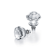 Load image into Gallery viewer, Baccarat Tip Top Bottle Stoppers Set of Two