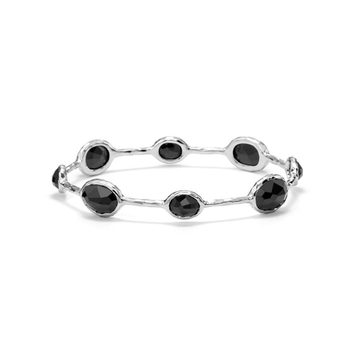 Ippolita Sterling Silver and Onyx Bangle