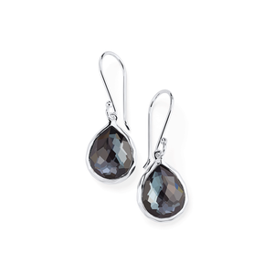 Ippolita Sterling Silver and Hematite Earrings