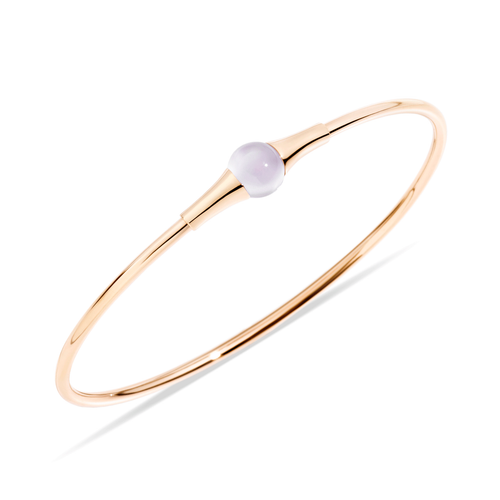Pomellato 18k Gold and Moonstone M'ama Non M'ama Bangle