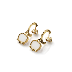 Chantecler Anima 70 Kogolong Hoop Earrings, Exclusively at Hamilton Jewelers