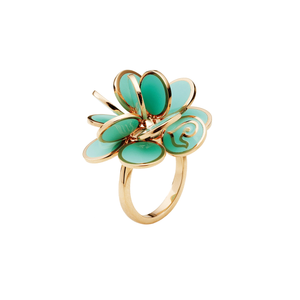 Chantecler 18k Pailettes Aqua Ring, Exclusively at Hamilton Jewelers