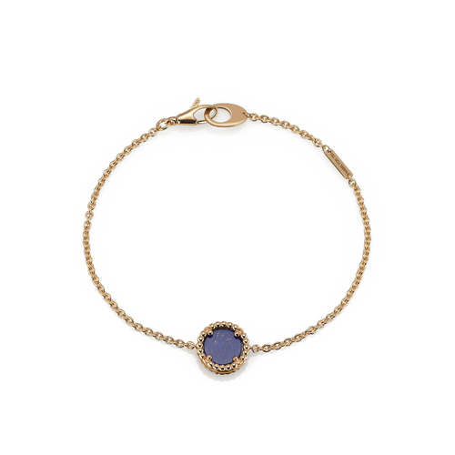18k Gold and Lapis Bracelet