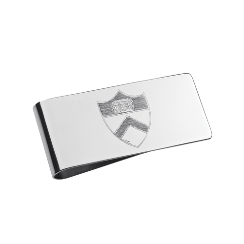 Princeton University Sterling Silver Money Clip