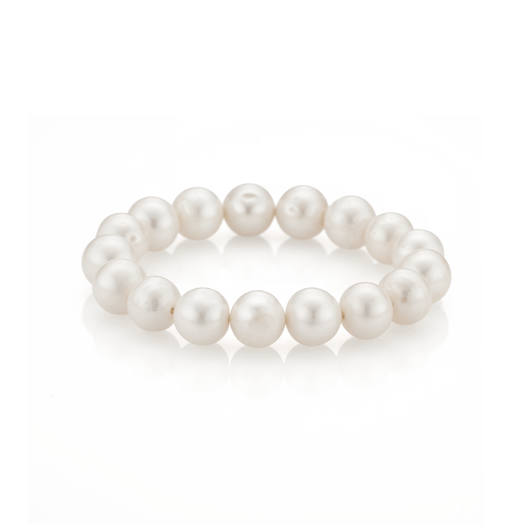 Freshwater Pearl Stackable Stretch Bracelet