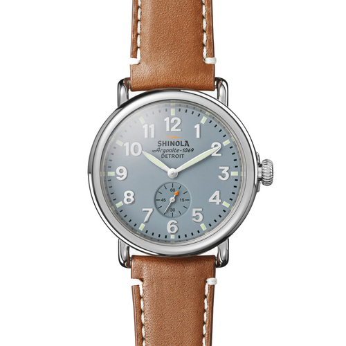 Shinola The Runwell Gray Blue