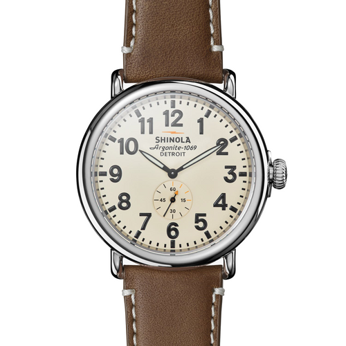 Shinola The Runwell Cream 47mm