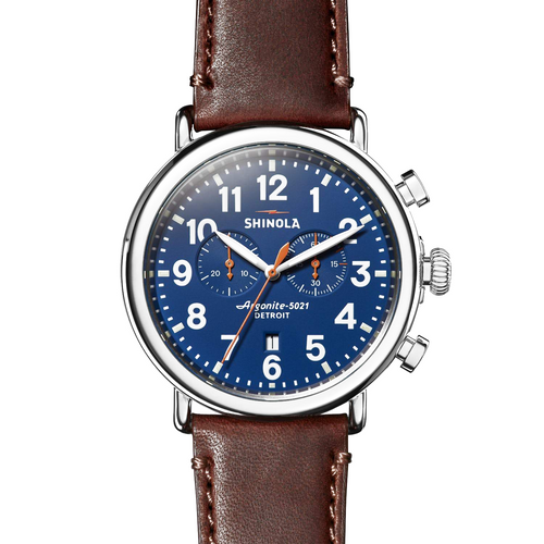 Shinola The Runwell Blue