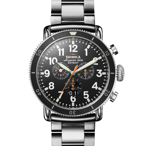 Shinola The Runwell Sport Chronograph Cool Grey
