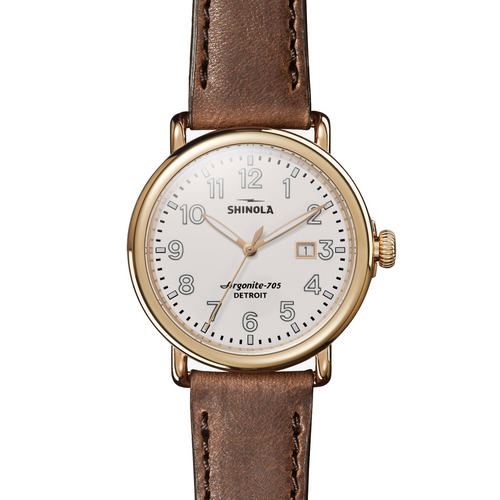 Shinola The Runwell Cream 41mm