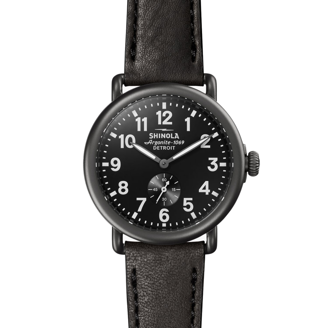 Shinola The Runwell Black