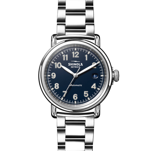 Shinola The Runwell Automatic Midnight Blue