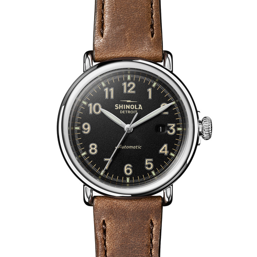 Shinola The Runwell Automatic Black