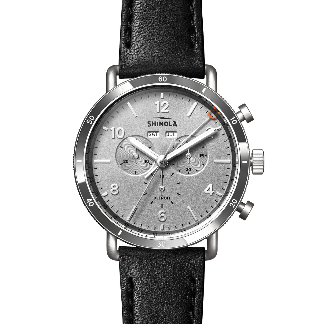 Shinola The Canfield Sport Silver