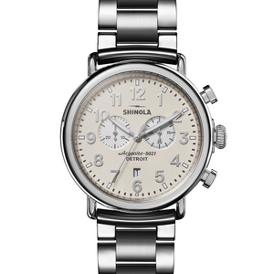 Shinola The Runwell Chronograph Ivory