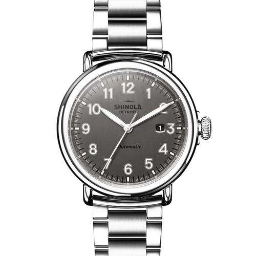 Shinola The Runwell Automatic Gunmetal