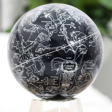 "Load image into Gallery viewer, Constellations MOVA Rotation Globe 4.5"" With Crystal Base Tall"