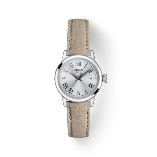 Tissot Classic Dream Lady with Silver Dial and Leather Strap