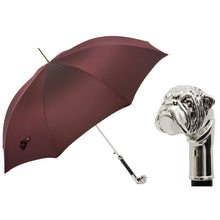 Load image into Gallery viewer, Silver Bulldog Umbrella
