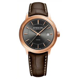 Raymond Weil Maestro Men's Rose Gold Automatic Date Watch