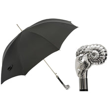Load image into Gallery viewer, Luxury Umbrella with Silver Ram Handle